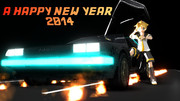 【MMD】明けましておめでとう2014年