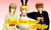 HAPPY NEW YEAR 2014!①