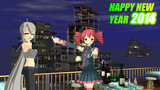 HAPPY NEW YEAR 2014 ! テト&ハク Night ver.