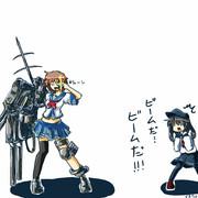 伸びる艦これ「古鷹は重巡洋艦。」