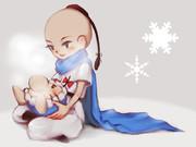 冬のプーさん