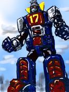 おっきいロボット