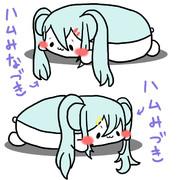 [あんガル] みなづき・みづき [ハム化]