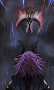 狂気の瞳VS嵐龍