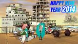 HAPPY NEW YEAR 2014 ! テト&ハク Morning ver.