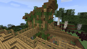 【minecraft】 ジャングルの家 【三作目】