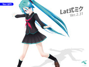 ::Lat式ミクVer.2.31 for MikuMikuDance::