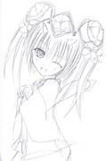 【チェンクロ】今年初のツル姫さまイラスト