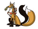 狐っぽい幻獣