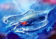 【ダライアス】イカ型戦艦「カトルフィッシュ」