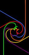 [4インチ]iOS7壁紙4(黒背景)