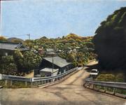 秋の道 埼玉県越生町