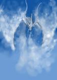 雲のドラゴン