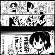 【艦これ】沈没加賀さん【史実】