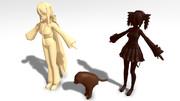 【MME】チョコレートシェーダーテスト