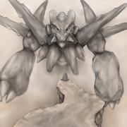 岩のドラゴン