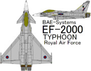 EF-2000 Typhoon Royal Air Force