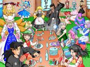 妖々夢で年越しの宴会というワケだぁ!!