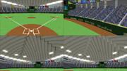 【MMD】ドーム球場ver1.01