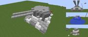 【Minecraft】 試作戦車 EP-1