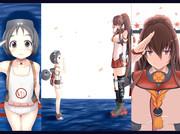 大和への登舷礼