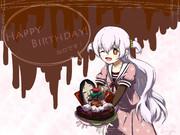 なぎさちゃんに誕生日を祝ってもらいました
