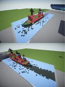 【Minecraft】原子力砕氷船ヤマル【ミニチュア?】