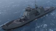 モブイージス艦 モデル配布