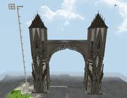 タダのでっかい塔がついに城門(予備軍)になりました!