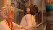 【MMD】銀八先生とアルヴィン先生