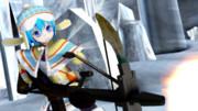 【MMD】 ウルク装備チルノ 【東方×MH】