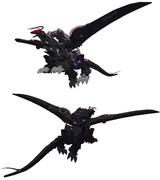 3DCG ギルベイダー (DESTRUCT改変モデル)