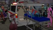そして救急車へ・・・