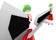 剣というにはあまりにも大きすぎて、ぶ厚くて、重くて、そして大雑把すぎる鉄塊