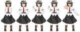 蓮子ちゃんの動画用素材画像ver2.0追加差分(ポーズ)
