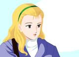 フェザーンの女の子1
