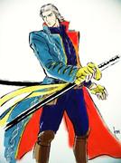 妄想)小十郎バージルコス描いてみた