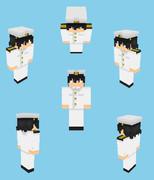 【Minecraft】提督風スキン
