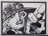ジャイロ・ツェペリ 手描きボールペン