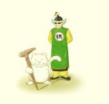 永井一郎氏 追悼イラスト