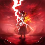 【東方】 炎の稲妻-博麗霊夢-