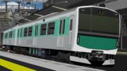 【配布】MikuMikuDance用EV-E301系「ACCUM」