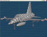 現在製作中のF-5E
