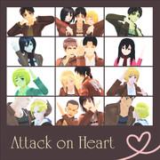 【進撃のMMD】heart