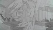 【シャーペン】進撃の巨人OP・回想シーン⑦(エレンと巨人の群れ)