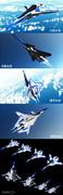 【MMD】小型可変複葉試験機 AWB-02X【オリメカ】