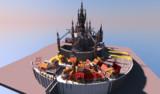 【Minecraft】魔法都市 途中経過
