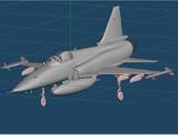 F-5EをF-20タイガーシャークに改造してみた
