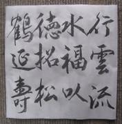 李銀山 先生 の書を臨書