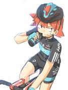 鳴子くん×Sky pro cycling